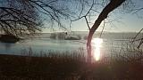 Východ slnka na veľtoku